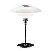 Louis Poulsen PH 4-1/2 - 3-1/2 Glass Table Lamp